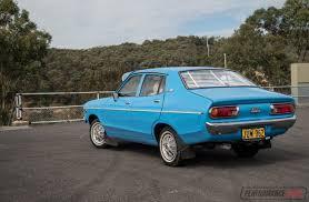 nissan datsun 1978 video 1978 datsun 120y 0 100km h u0026 engine sound performancedrive