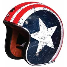 Rebel Flag Gear Torc Helmet Open Face T 50 Rebel Flag