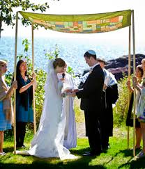 diy chuppah poles how to assemble a chuppah part i curtain or