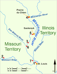 Map Of The Mississippi River Fort Johnson Wikipedia