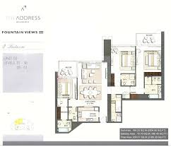 floor plans by address the address residence views emaar dubai international