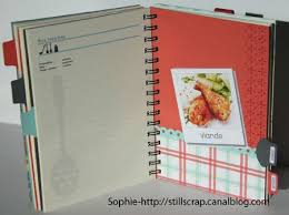 cahier de cuisine vierge livre de recettes post du 7 mars 2012 stillscrap cahier