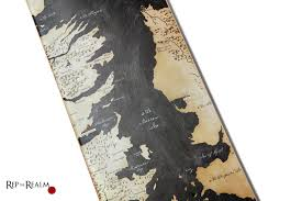 Map Westeros Shred Westeros On These Game Of Thrones Map Skateboards Creators
