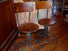 vintage industrial bar stools counter height vintage industrial