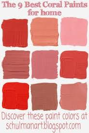 yummy coral wall how fantastic let u0027s all paint a room terra