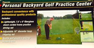 Backyard Golf Practice Net Upc 022275001131 Jef World Of Golf Personal Backyard Practice