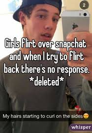 No Response Meme - flirt over snapchat and when i try to flirt back there s no response
