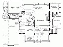one level house plans project ideas 4 bedroom house plans one level 3 bedroom house