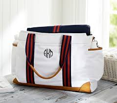 Pottery Barn Classic Diaper Bag Review East Coast Chic September 2013