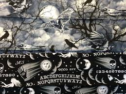 this is halloween fabric inside quilters newsletter
