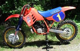 restored vintage motocross bikes for sale 1986 honda cr250 cr 250 restoration