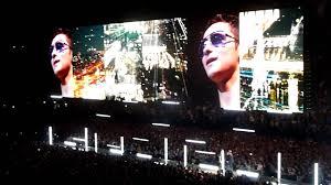 U2 In The City Of Blinding Lights U2 City Of Blinding Lights Live Paris Bercy Accorhotels