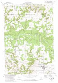 topo maps wisconsin fall creek topographic map wi usgs topo 44091g3
