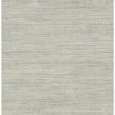 brewster island grey faux grasscloth wallpaper fd23285 the home