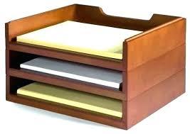 Wooden Desk Organizers Desk Organizer Tray Smoke Grey Size 2 Drawer Acrylic Line Etched