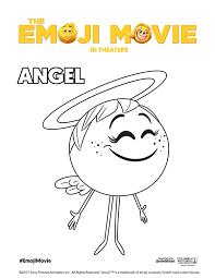 printable emoji movie coloring pages theemojimovie emojimovie