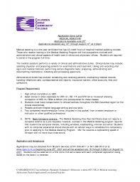 cover letter sample cover letters for medical assistant sample
