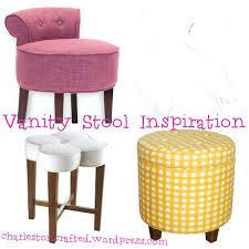 Vanity Chair Stool 20 Inch Vanity Chair Swivel Bathroom Vanity Stools Small Bedroom