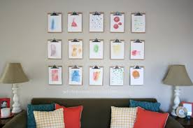 how to do a gallery wall how to make a clipboard wall white house black shutters