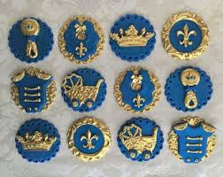 baby boy shower cupcakes baby boy shower fondant cupcake toppers edible royal baby