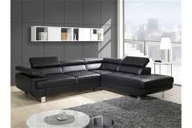 canape angle noir conforama canap noir convertible excellent canap lit places en cuir noir ou