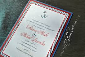 wedding invitations orlando anchors away invitation by pretty peacock paperie orlando