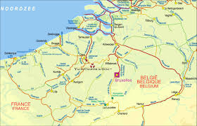 Brussels Germany Map Germany Is It Possible To Travel On River Canal From Bruges