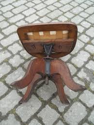 antique oak swivel desk chair antiques atlas