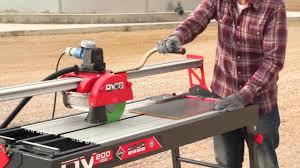 Ryobi Tile Saw Manual by Wet Saw Tile Cutter Cortador Eléctrico Rubi Dv 200 1000 Youtube