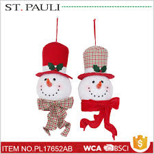 snowman hanging ornaments novelty 2017 for bulk
