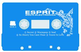 Blue Photo Album 200 Electronica Esprit 空想