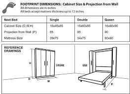 full size murphy bed cabinet murphy bed dimensions dosgildas com