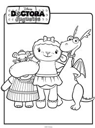 dibujo de los amigos de doctora juguetes dibujos de disney doc