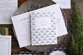 formal wedding programs winslow suite hello tenfold wedding invitations