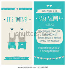 baby shower invitation its boy stock vector 213685129