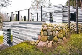 3d home landscape design 5 house villa near vilnius by gyza 5 international style
