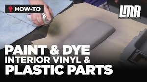 how to paint dye interior vinyl u0026 plastic parts mustang tech