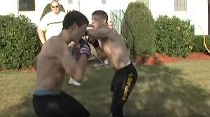 videos brothers joe and dan lauzon have backyard brawl twice