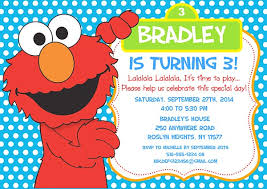 elmo birthday elmo birthday party invitations sesame kids birthday