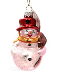 deals on christopher radko littlest snowman glass