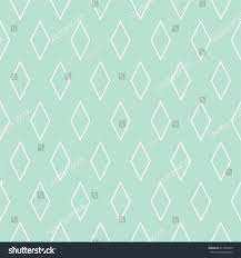 tileing halloween background tile vector pattern mint green white stock vector 417845875