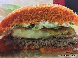 halloween whopper burger king burger king cheddar whopper bk cheddar collection review
