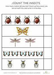 brilliant ideas of bug worksheets for kindergarten with resume