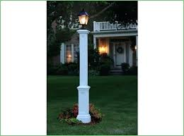 front of house lighting ideas l post in front of house lighting front yard l post