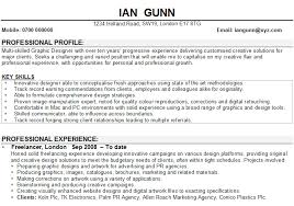Graphic Design Resume Sample by Graphic Designer Cv Sample