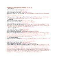 scientific method variables worksheet worksheets