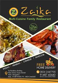 multi cuisine zaika multi cuisine family restaurant falnir restaurants in