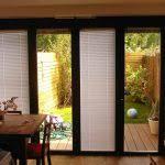 Patio Door Venetian Blinds Best Patio Doors With Blinds With Wood Venetian Blinds Gallery