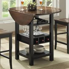 tall kitchen island table dining room modern black tall kitchen table with decorative white