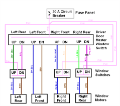 1997 honda accord power window wiring diagram questions with